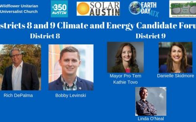 Candidate Questionnaire on Climate & Energy – Austin City Council Districts 8 & 9