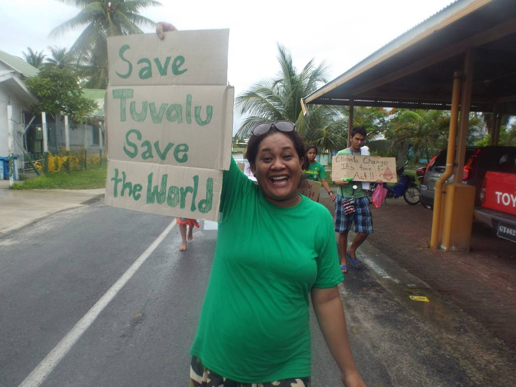 Tuvalu Climate March