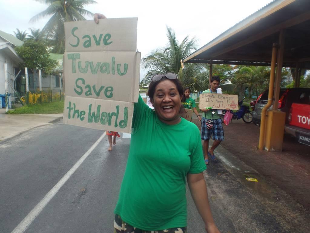 Tuvalu Climate March