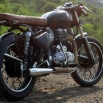 Classic 350cc Cafe Racer From Bambukaat Motorcycle Customs