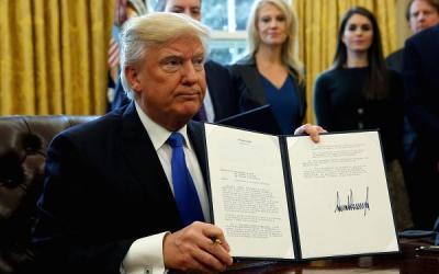 Trump Orders Completion of DAPL and Keystone