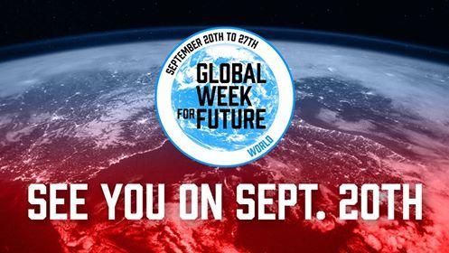 Global Climate General Strikes Begin Sept. 20, 2019