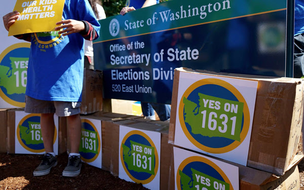 Washington State Initiative I-1631 will be on the ballot in November
