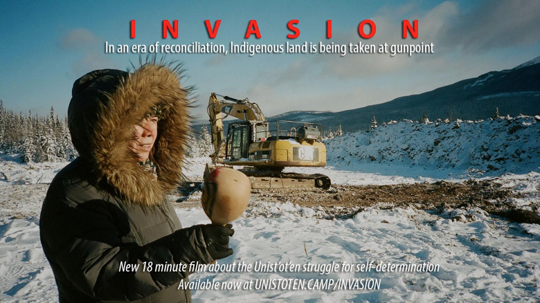 Support the Unist'ot'en Camp! Film Screening this Tuesday!