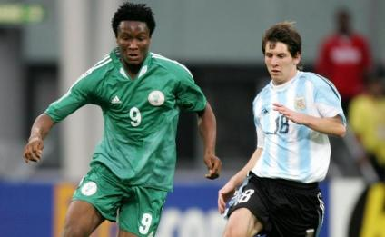 Image result for Mikel and Messi