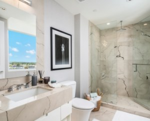 Bathroom at 3550 South Ocean Condos in Palm Beach, Florida