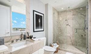 Luxury Bathroom at 3550 South Ocean Condominiums