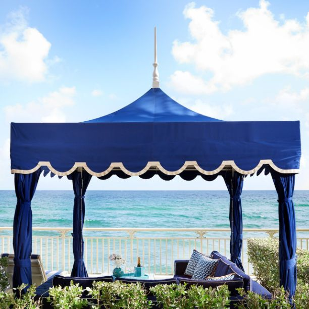 Private Cabanas at 3550 South Ocean