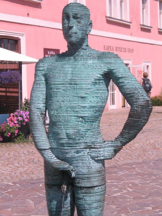 Animatronic statue