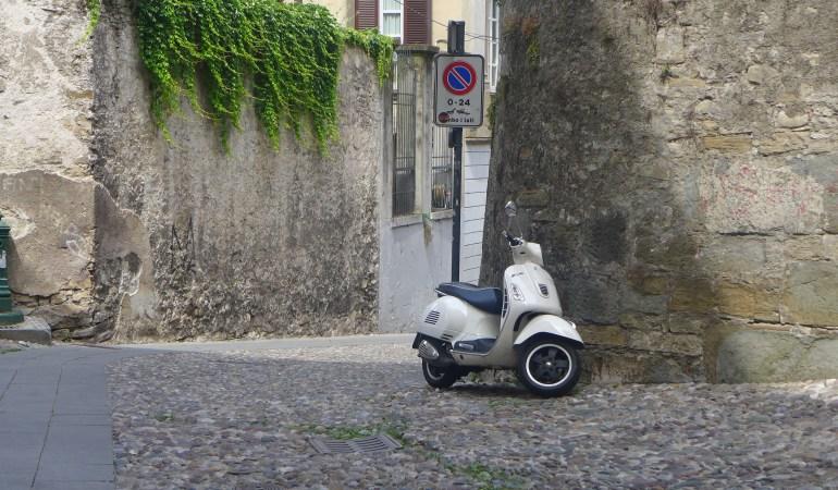 Getting our feet wet – Bergamo to Milano