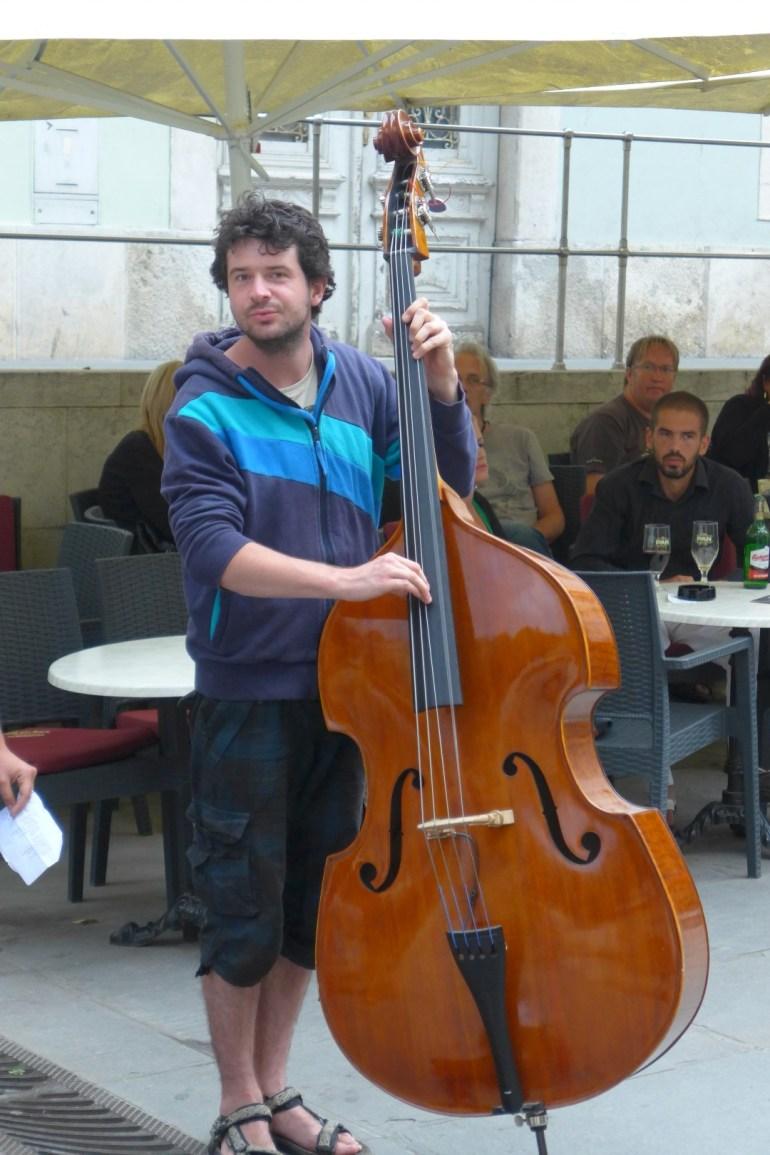 Vladimir on bass