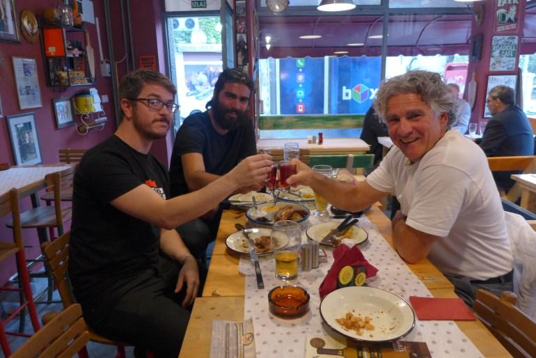 Ziveli! .. with John and Amagi, over shots of raspberry rakija