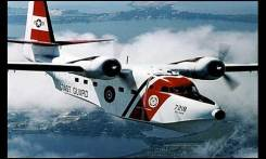 Hu-16 Albatross. An aircraft similar to this one circled the scene throughout the rescue.