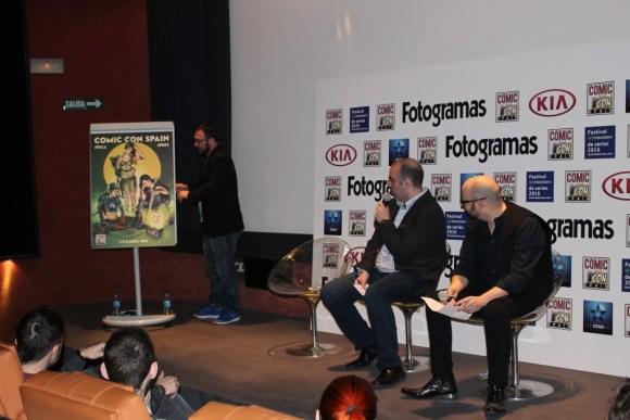 Presentación en Madrid de la Comic Con 2016.