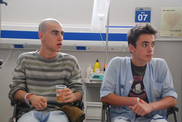 Jordi (Igor Szpakowski) y Lleó (Àlex Monner) enfrentan la 2T con una relación distinta.