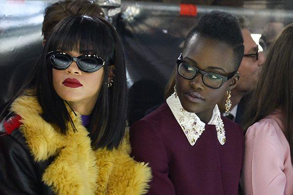 Rihanna y Lupita