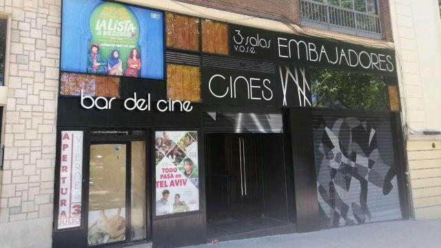 cine embajadores