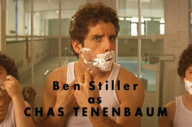 Ben Stiller en Wes Anderson