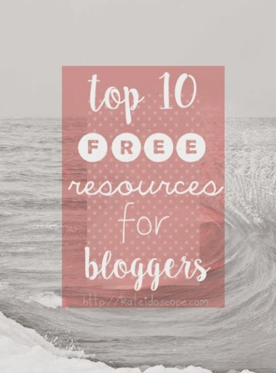 iHEARTBLOGGIN | Top 10 Free Resources for Bloggers