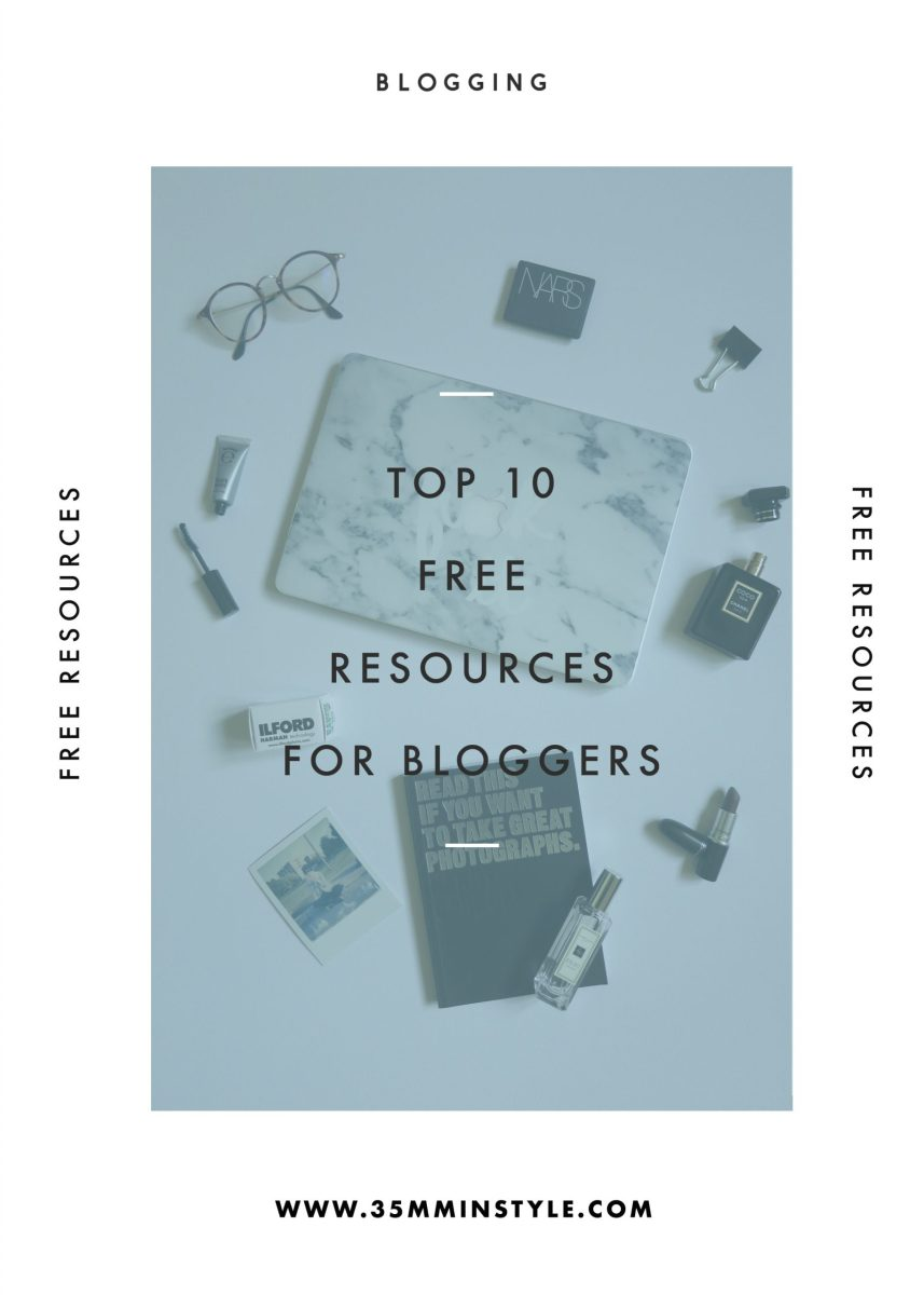 Top 10 Free Resources for Bloggers (Updated)