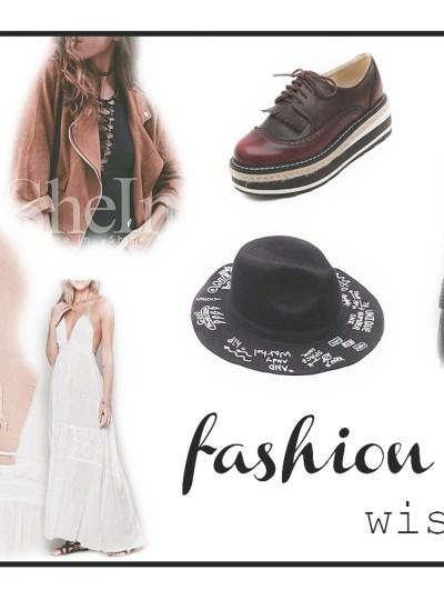 Fashion Xmas Wishlist ft. SheIn