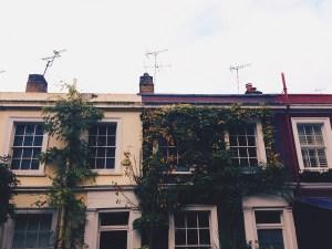 Autumn in Notting Hill, London