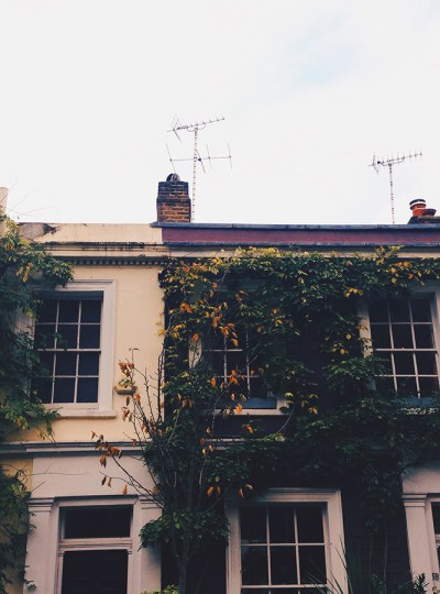 Autumn in Notting Hill, London