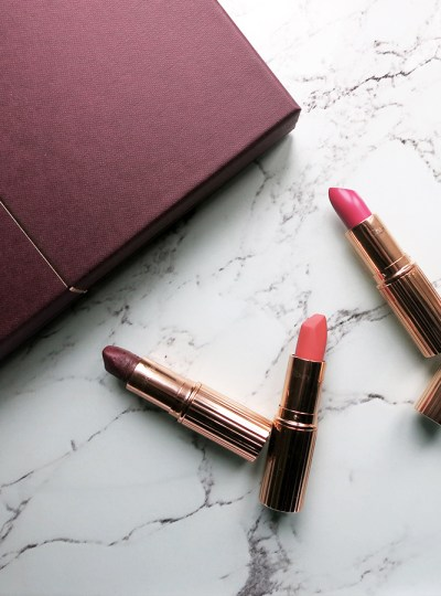 My Charlotte Tilbury Lipsticks Collection