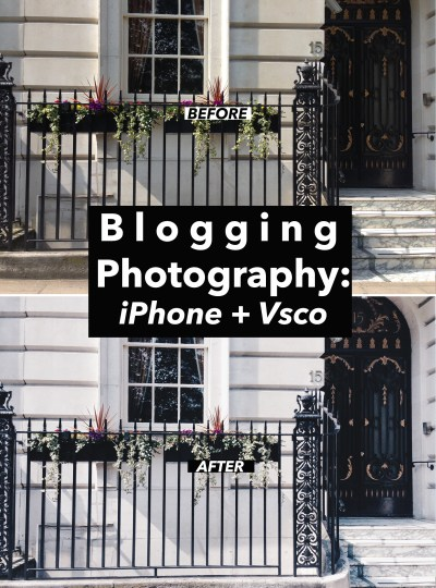 BLOG | Blogging Photography: iPhone + VSCO