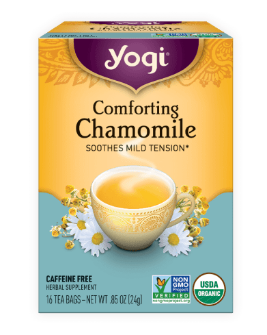 top supplements An organic blend of calming yogi tea