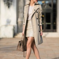 Trench Coat X Skirt