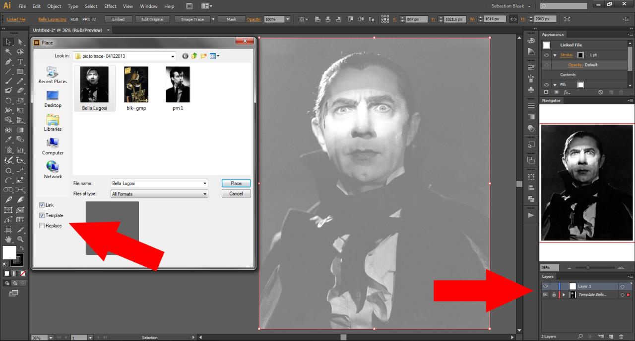 Adobe Illustrator Template
