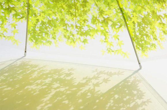 葉のプリント