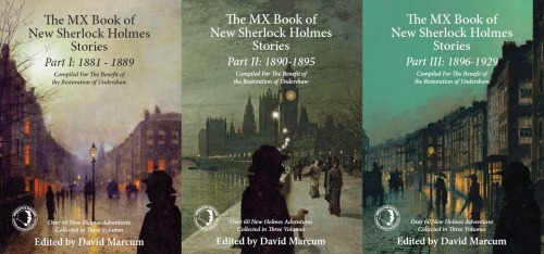 All three New Sherlock Collection Volumes are now also available for pre-order in paperback from Amazon UK. Out on 1st October.The hardbacks are on pre-order, discount and free worldwide delivery from Book Depository.