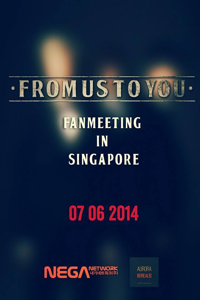 [Agenda|7.6.2014] Fan Meeting en Singapur