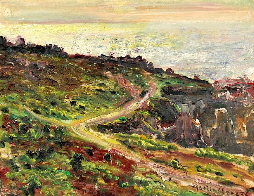 bofransson:Martin Åberg, Sweden (1888-1946) Landscape