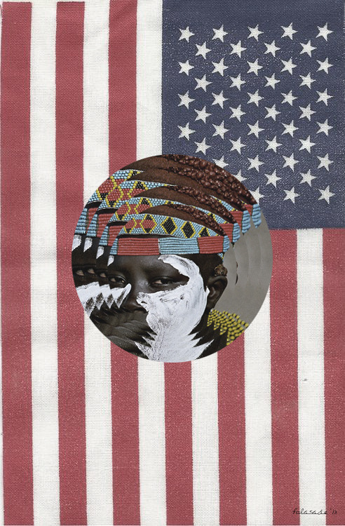 "<br /> ""African - American""<br /> 2013<br /> Art by Folasade<br /> ©<br />"