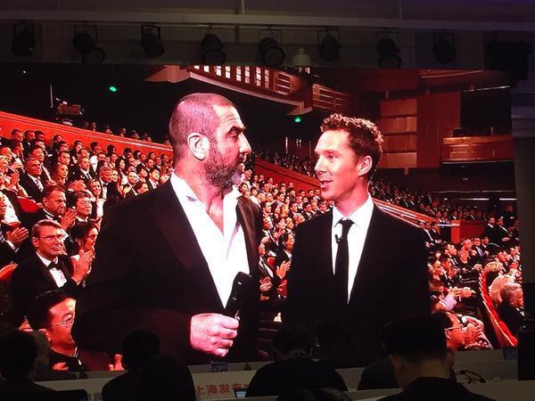 Kahina Sekkai#EricCantona et #BenedictCumberbatch aux #LWSA15