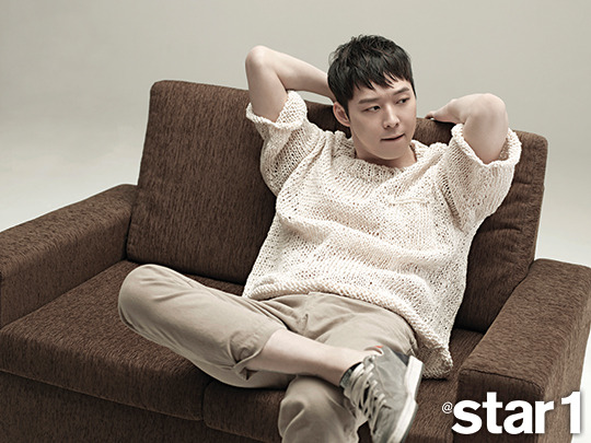 JYJ Yoochun - @Star1 Magazine March Issue'15