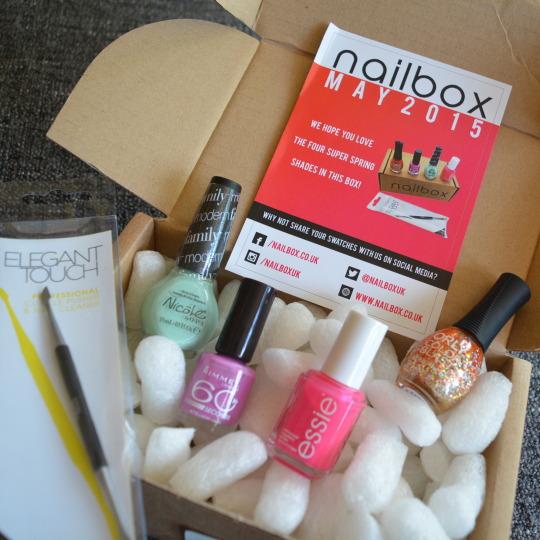 Nailbox May Subscription Box