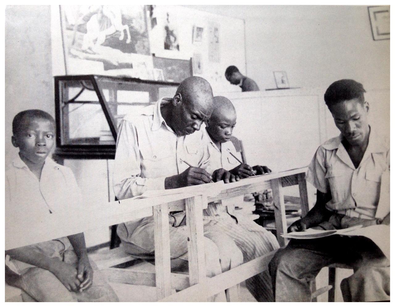 Adult School, Haiti c.1950