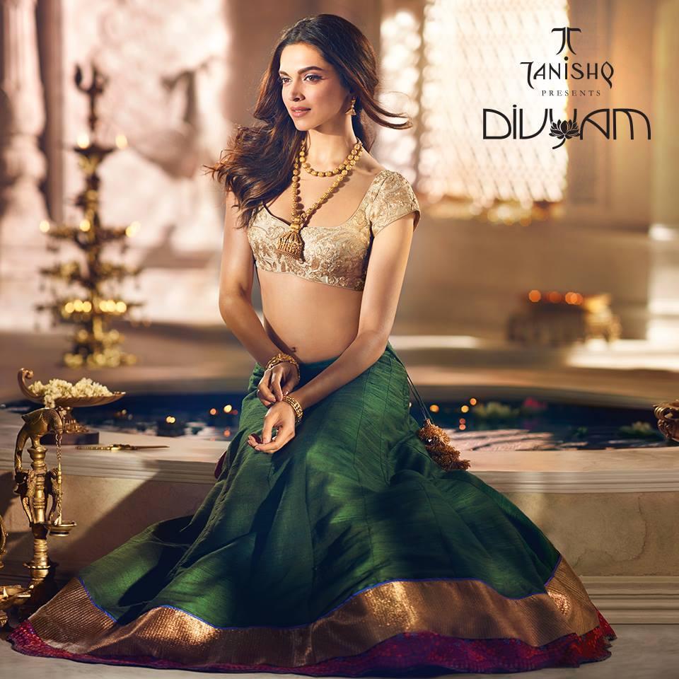 Tanishq Deepika Padukone Photoshoots 2015