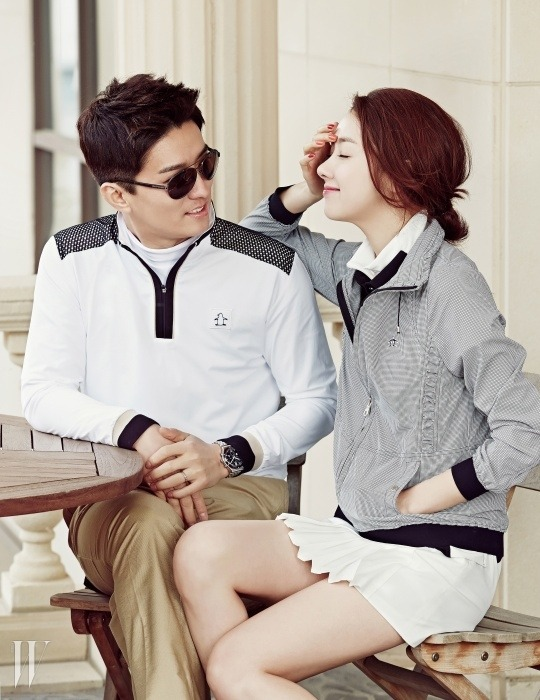 So Yi Hyun and In Gyo Jin - W Magazine March Issue '15