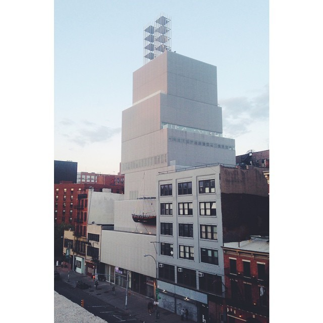 New Museum on the Bowery