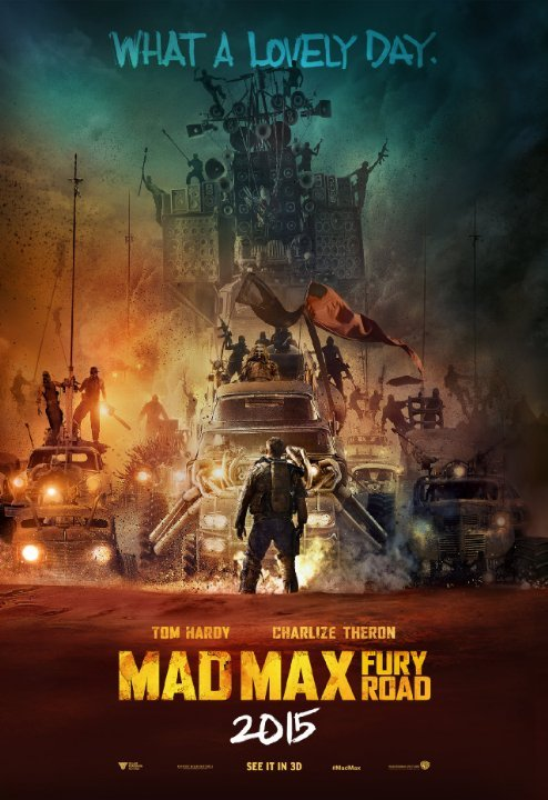 Mad Max: Road to FuryReviewed by Miranda BoyerThirty-six years after the original Mad Max debuted we are forced to live through another installment,<br /><br /><br /> this time Fury Road. George Miller<br /><br /><br /> directed the newest and every previous Mad<br /><br /><br /> Max feature. Although he clearly forgets that not everyone follows his<br /><br /><br /> films closely and might not know what is going on.Tom Hardy, is our Max who is forced to be a living blood<br /><br /><br /> bank in a nightmare world where gangs of powder-faced skin heads control the<br /><br /><br /> water supply and other humans. Let's not forget the fact that women are<br /><br /><br /> property used for milking, and breeding an entire population of disgusting<br /><br /><br /> toothless peasantry, begging for water. If there is one thing that this film has going for it, it is<br /><br /><br /> John Seal's cinematography. While simultaneously thinking about how confusing<br /><br /><br /> this movie was, and complaining about the lack of any back story AT ALL, I did<br /><br /><br /> often want to complement the beauty of the filming. Despite the occasional beauty the whole movie was one LONG<br /><br /><br /> chase scene. I think I can sum up this movie pretty easily. There is a<br /><br /><br /> woman named Furiosa (named this as a child, not a name she earned I might add) has<br /><br /><br /> rescued and is now fleeing with five of the young breeders/kings wives. Max meets<br /><br /><br /> up with them in the desert by chance. Furiosa, Max, and the breeders are<br /><br /><br /> fleeing and the King's army is chasing them. Over and over; in different ways; in<br /><br /><br /> different vehicles; in different directions. I will give props where there due, and Charlize Theron, as<br /><br /><br /> Furiosa gives an impressive performance of raw emotion, if only the film could<br /><br /><br /> be brought up to her talent.It is no secret that I love a good car chase scene and explosions (Furious 7) but<br /><br /><br /> I do require the ability to feel for the characters, not to mention the small<br /><br /><br /> part about wanting to know what the hell is going on. If you're into two straight<br /><br /><br /> hours of action that are filmed really well but entirely lacking in suspense,<br /><br /><br /> then this is the movie for you.