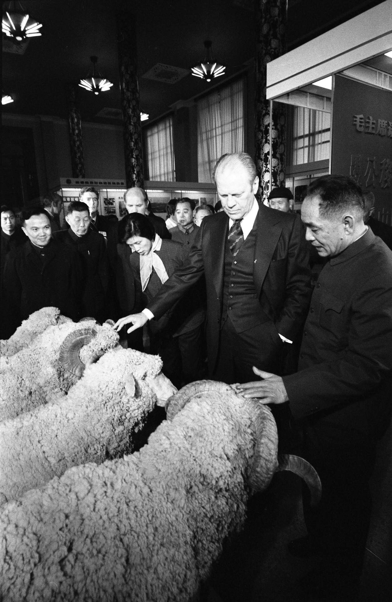 !The year of the Sheep (or Goat or Ram) begins today. President Ford ...