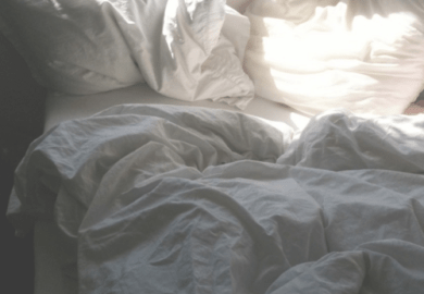White Bed Sheets Tumblr