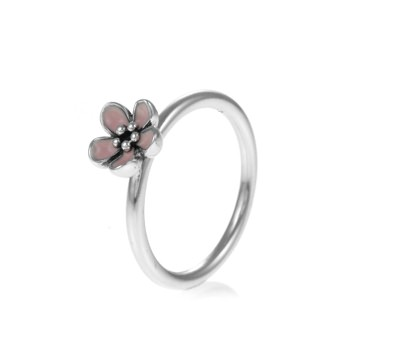 PANDORA Pink Cherry Blossom Flower Ring 190879EN40