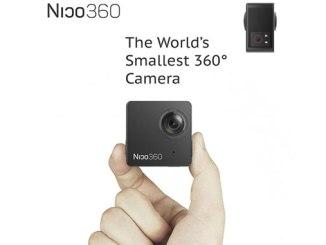 Nico 360 - kleinste 360 Grad Kamera der Welt