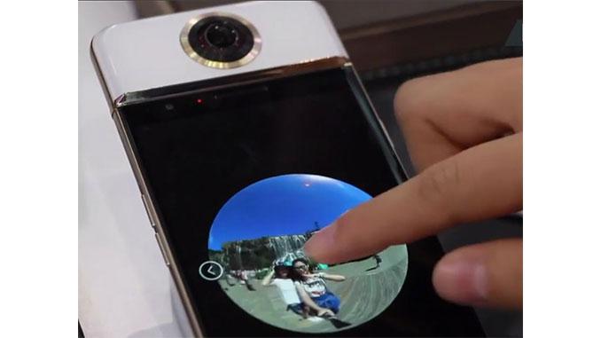 Darling VR, weltweit erstes Smartphone mit integrierter 360 Grad Kamera.